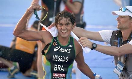 Il predestinato Messias campione sudamericano di triathlon