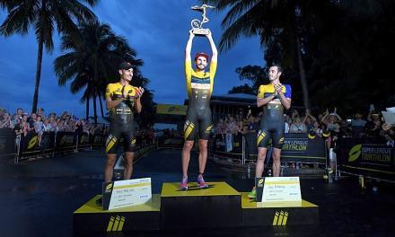 Richard Murray trionfa alla Super League Triathlon