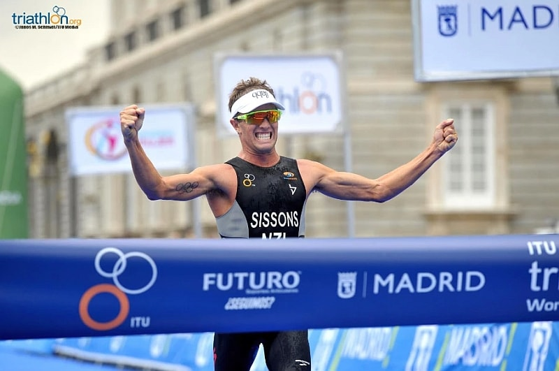 Il neozelandese Ryan Sissons vince l'ITU World Cup Triathlon 2017 di Madrid