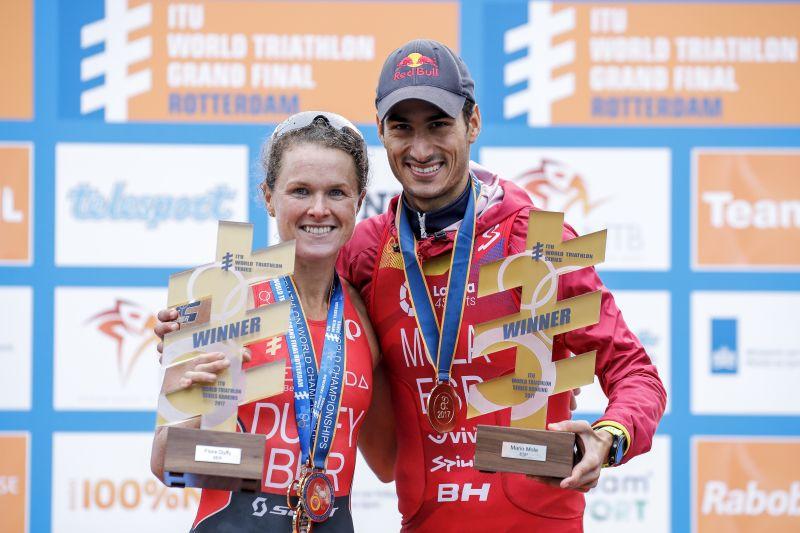 Il film della Grand Final Mondiale del triathlon a Rotterdam