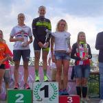 Il podio femminile del Trathlon Olimpico di Irondelta 2017 del 17 settembre: trionfo per la nostra Gaia Peron!