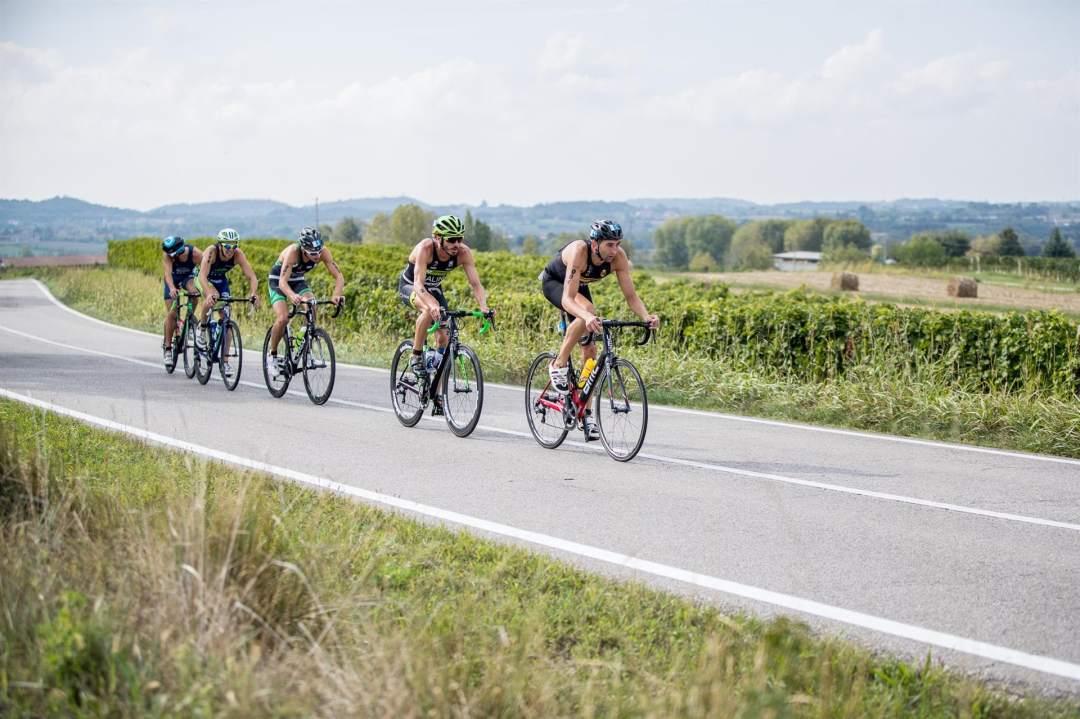La frazione bike del triathlon olimpico al Kuota TriO Peschiera 2017