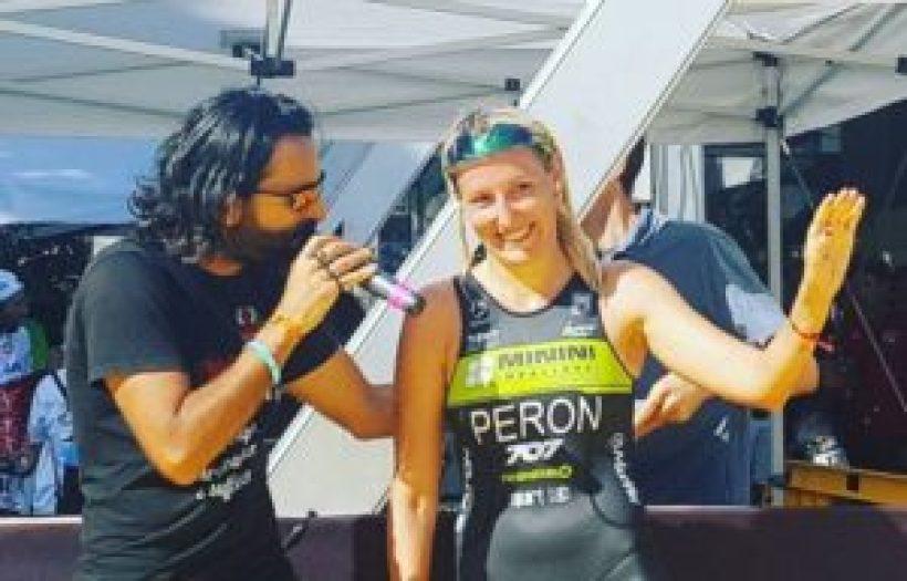 "Gaia Peron racconta la sua vittoria al Let's Go Triathlon Grado 2017 al microfono di Dario ""daddo"" Nardone"