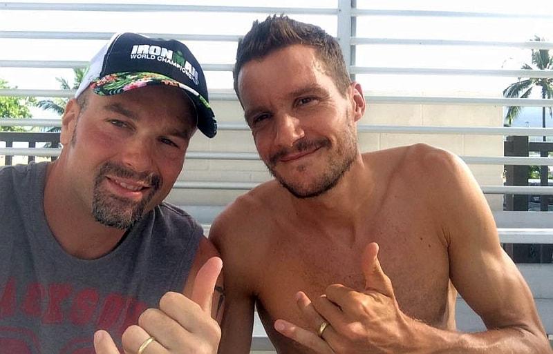 """Per la quarta volta all'Ironman Hawaii, Claudio Oriana ci saluta insieme al mitico """"Frodissimo"""""""
