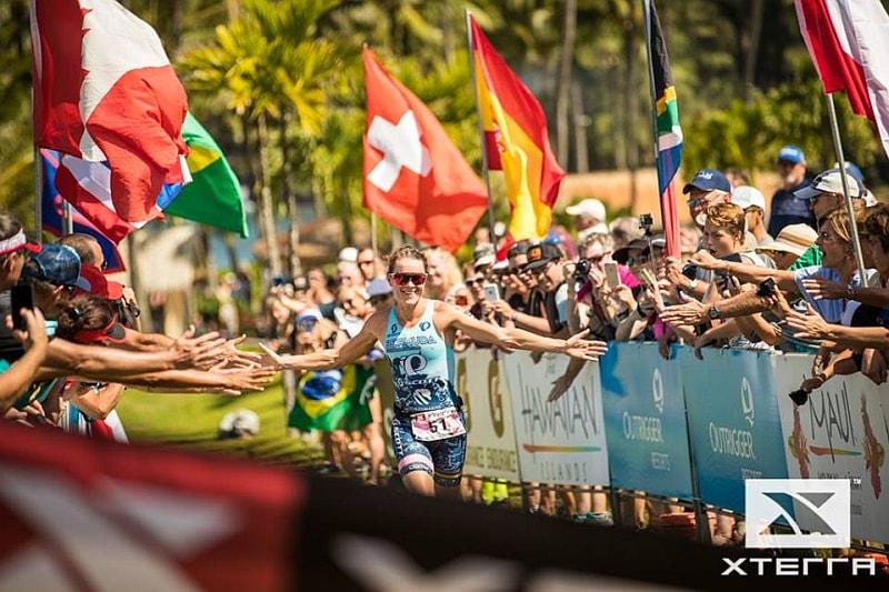 Flora Duffy vince il 29 ottobre 2017 per la quarta volta consecutiva il Mondiale XTERRA a Maui
