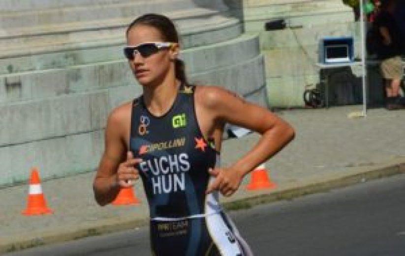Tra le donne, Dora Fuchs (PPR Team) bissa la vittoria del compagno di squadra Stefano Intagliata al Triathlon di Torino 2017 (Foto Archivio PPR Team)