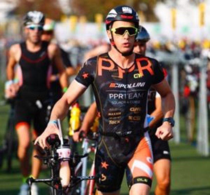 Magno Cristiani, padrone di casa di Forte Village e portacolori del PPR Team, ha fatto suo l'Ironman Barcelona in 10:24:17.