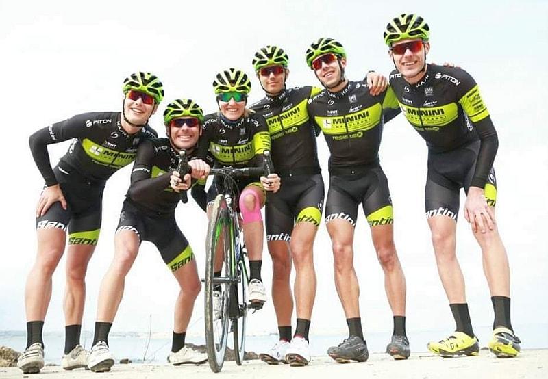 Il gruppo del 707Team Triathlon