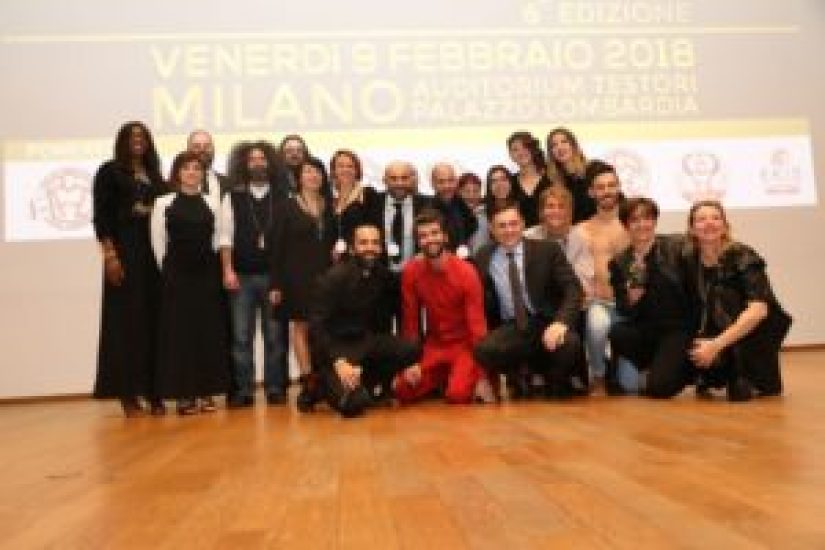 "Il ""dream team"" del Gala del Triathlon 2018 (Foto ©Sergio Tempera)"
