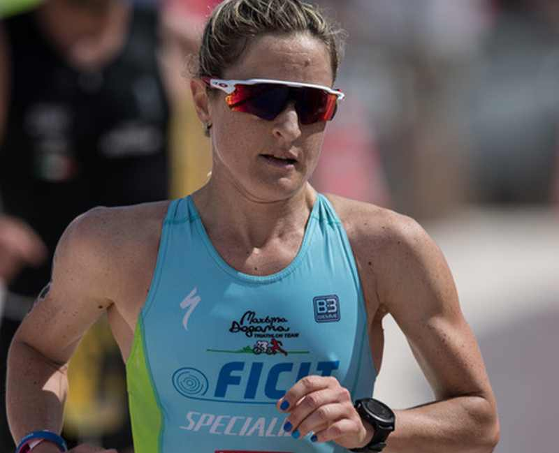 Martina Dogana (Martina Dogana Triathlon Team) è la madrina del 1° TriXman, il triathlon full e half distance che si disputerà a Civitavecchia (RM) il 12 maggio 2019 (Foto ©Andrea Guerriero).