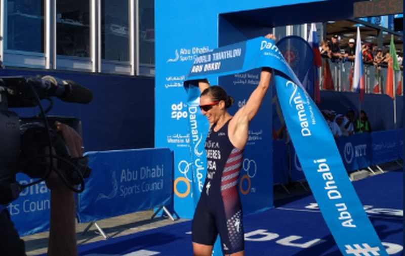 La statunitense Katie Zaferes si aggiudica la tappa inaugurale dell'ITU World Triathlon Series 2019.