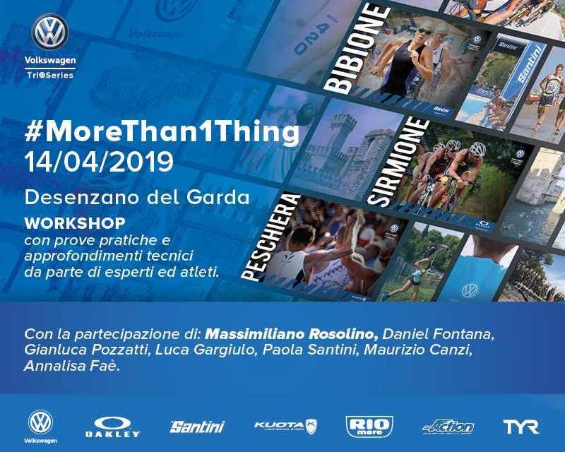 #MoreThan1Thing: una giornata di workshop sul triathlon, aspettando il Volkswagen TriO Series 2019