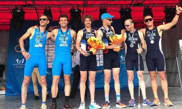 Tre argenti per l'Italia nella tappa di CoppaMondo di paratriathlon a Besancon