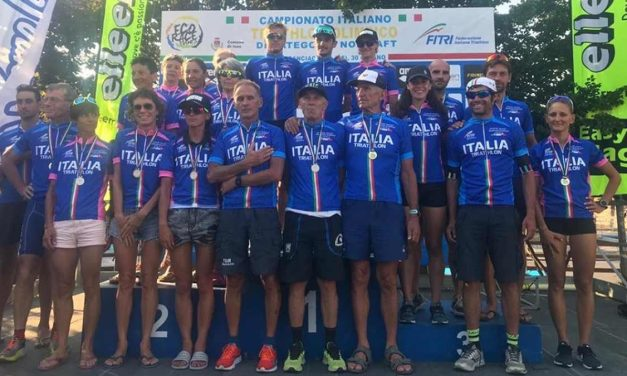 Tutti i Campioni Italiani Age Group di triathlon olimpico 2019