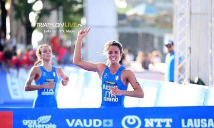 Mallozzi-Arpinelli, il Mondiale Junior di triathlon è Tricolore!