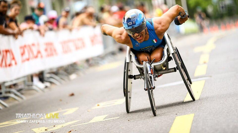 Paratriathlon: Giovanni Achenza bronzo ai Mondiali di Losanna