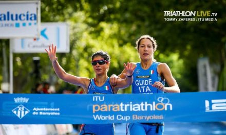 CoppaMondo Paratriathlon a Banyoles: Barbaro è oro, Plebani bronzo!