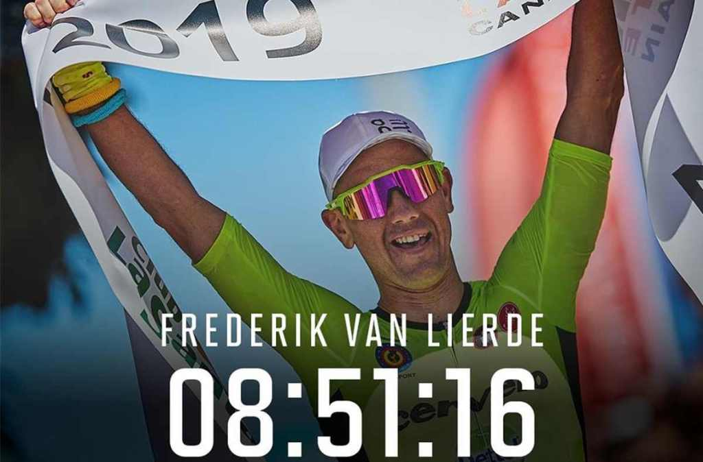 Il belga Frederik Van Lierde vince l'Ironman Lanzarote 2019.