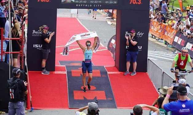 Flora Duffy, buona la prima: all'esordio vince l'Ironman 70.3 South Africa
