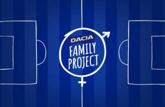 Dacia Family Project, allo stadio con la famiglia