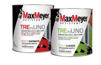 MaxMeyer TRE in UNO: lo smalto ideale per ottenere il massimo  risultato in metà tempo