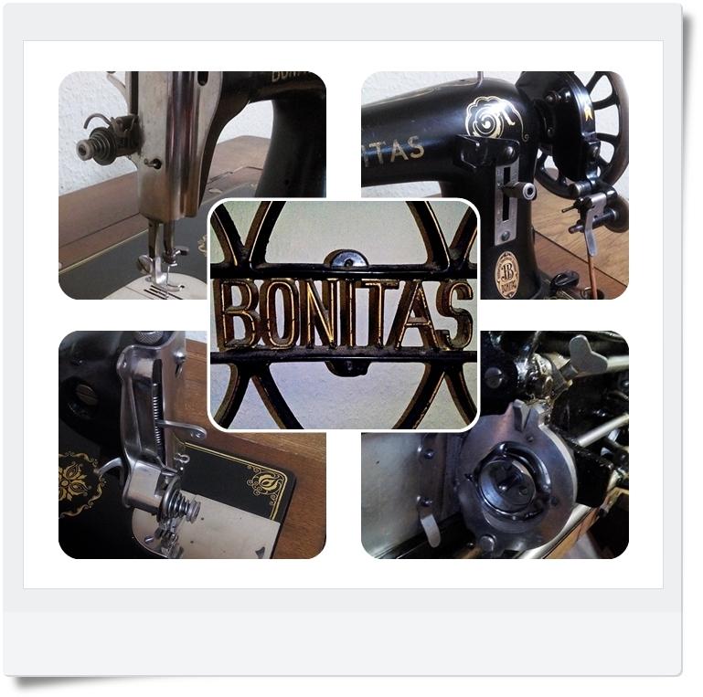 Nähmaschine Bonitas - Mondspinne