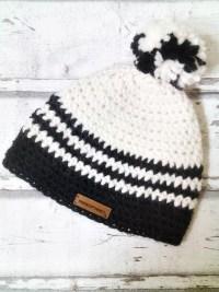 """Mütze """"Anden"""" (schwarz-weiß) von Mondspinne"""