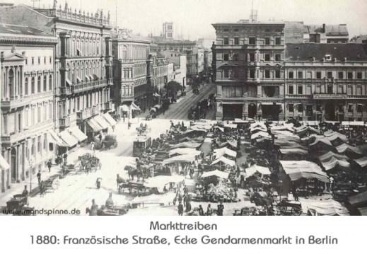 Markttreiben Berlin - MONDSPINNE