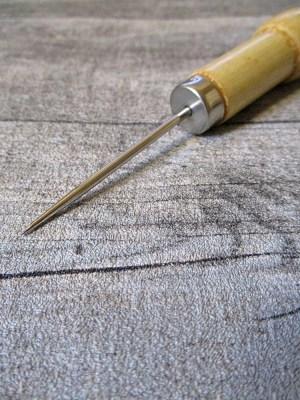 Ahle Metall Holz Gesamtlänge 12cm MONDSPINNE