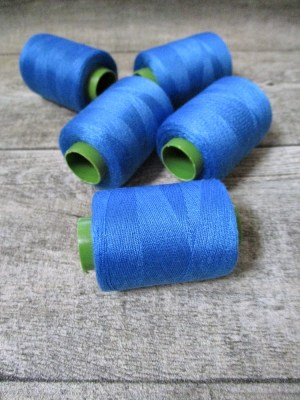 Garn Polyester dodgerblau 0,1 mm 400 m - MONDSPINNE
