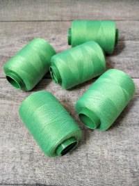 Garn Polyester grasgrün 0,1 mm 400 m - MONDSPINNE