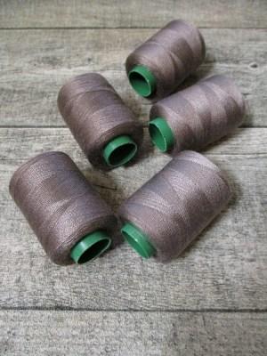 Garn Polyester grau 0,1 mm 400 m - MONDSPINNE