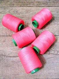 Garn Polyester neonpink 0,1 mm 400 m - MONDSPINNE 14