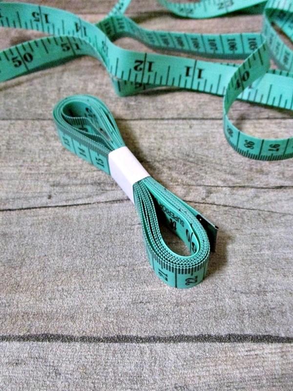 Maßband Metermaß Bandmaß Zentimeter Inch grün 150 cm Kunststoff - MONDSPINNE