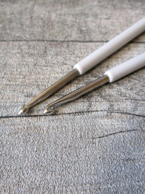 Häkelnadel Prym silber grau Stärke 4 137 mm - MONDSPINNE