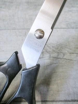 Schere Schneiderschere, Stoffschere Universalschere Papierschere schwarz Kunststoff Metall 21 cm - MONDSPINNE