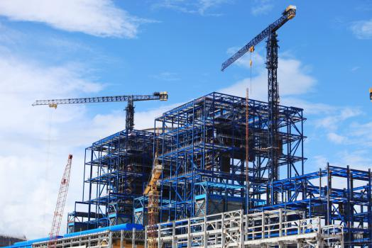 Construire une usine