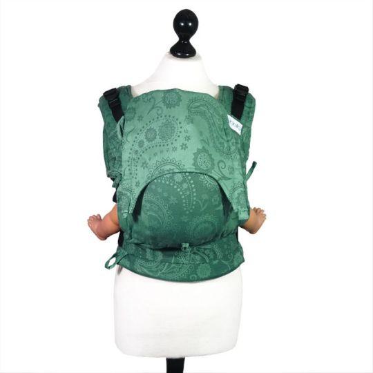 fidella-fusion-mochila-ergonomica-persian-paisley-verde