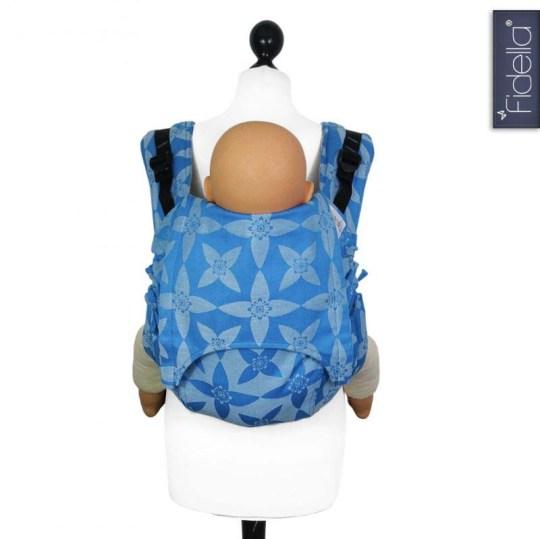 fidella-onbuhimo-mochila-ergonomica-flor-azul