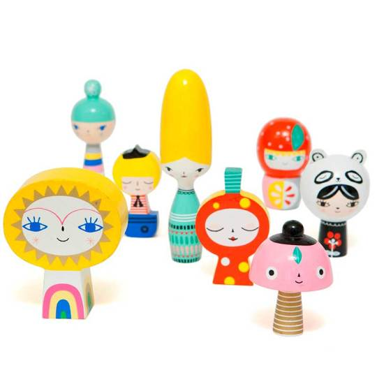 juguete-personajes-de-madera-mr-sun-and-friends-monetes3