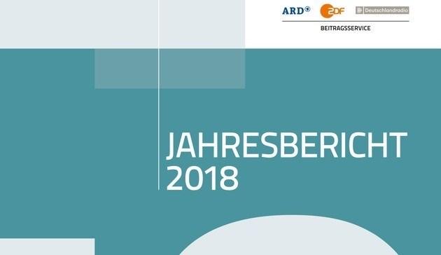 Beitragsservice veröffentlicht Jahresbericht 2018