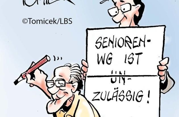 Senioren-WG ist zulässig
