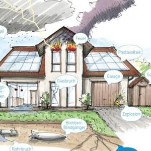 Neue Wohngebäudeversicherung