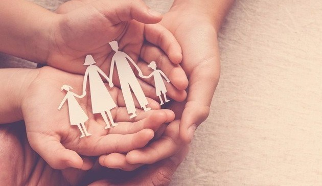 Familiemilienglück