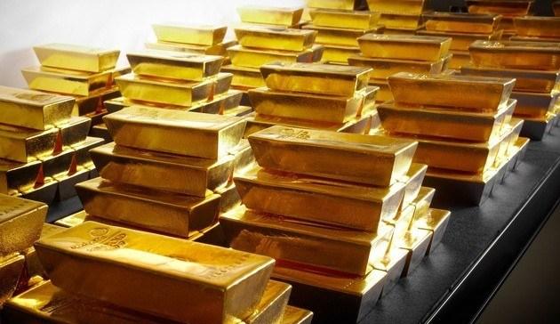 Tresor Goldbarren