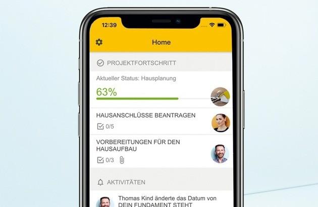 App Bau-Cockpit