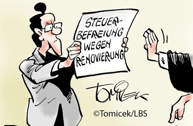 Steuerbefreiung wegen Renovierung