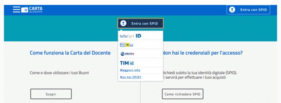 Carta Docente 2018 2019 Date Acquisti Possibili E