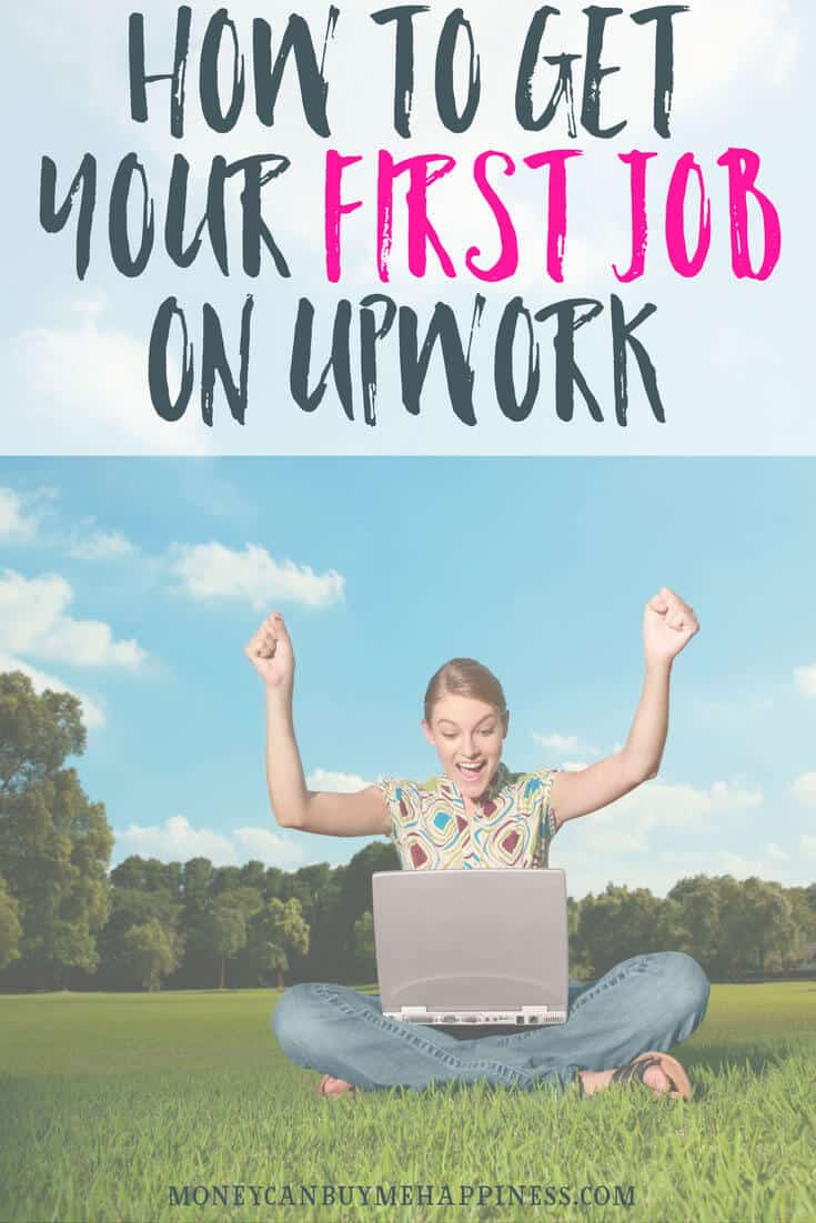 How I got my first job with Upwork, which has now become one of my most stable sources of online income.