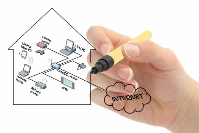 how to set up a home network  equipment  networking basics